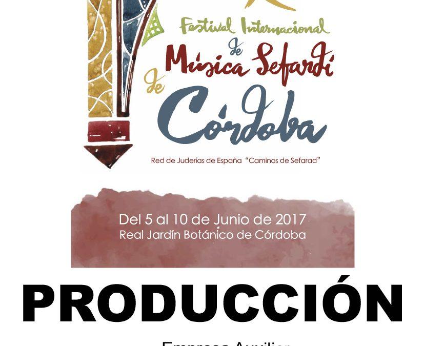 FESTIVAL XVI INTERNACIONAL DE MÚSICA SEFARDI