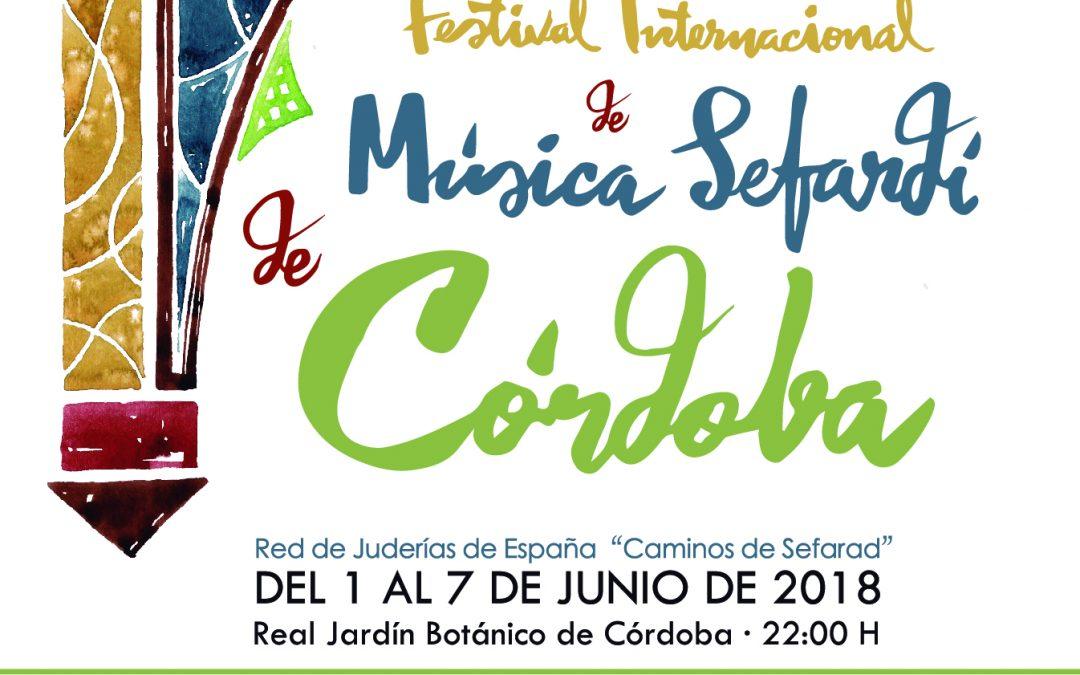 FESTIVAL INTERNACIONAL DE MÚSICA SEFARDÍ CORDOBA 2018