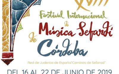 FESTIVAL INTERNACIONAL SEFARDÍ DE CÓRDOBA 2019