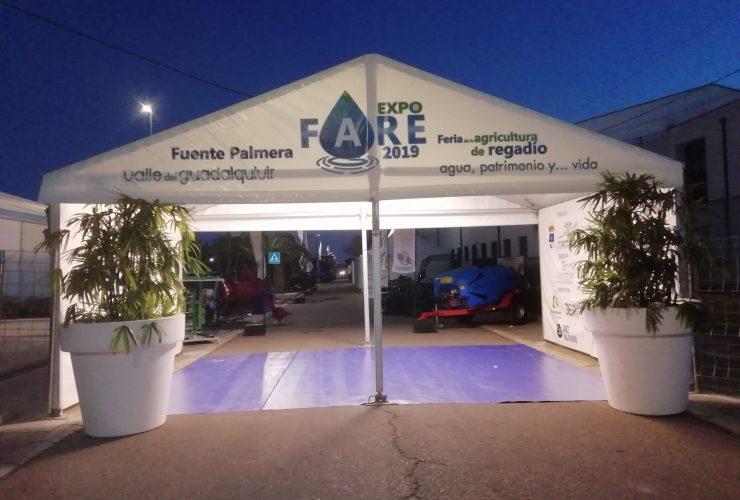 portico de entrada a EXPOFARE 2019
